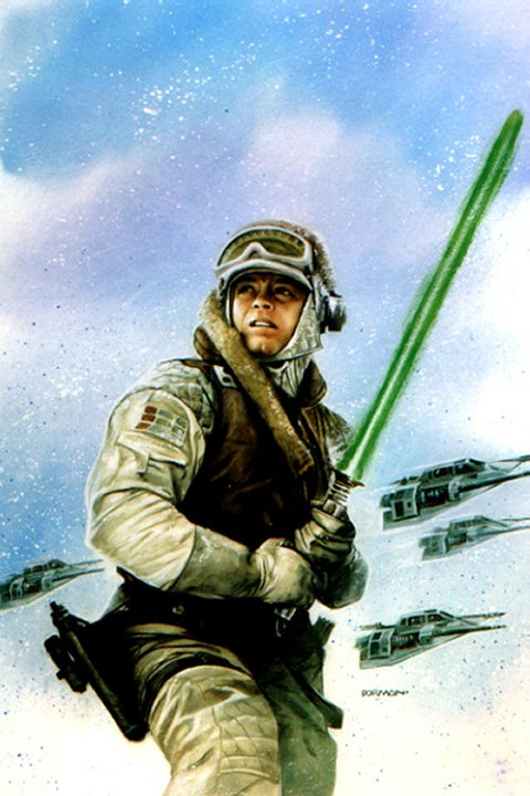 luke on hoth